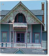 Painted Lady In Ocean Grove Nj Acrylic Print by Anna Lisa Yoder