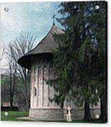Painted Monastery Acrylic Print