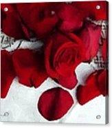 Painted Petals Acrylic Print