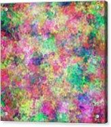 Painted Pixels Acrylic Print