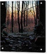 Painted Sky Acrylic Print