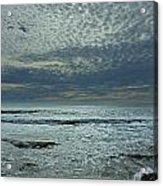D3a6136-painted Sky Bolinas Ca  Acrylic Print