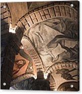 Painted Vaults Acrylic Print by Lynn Palmer