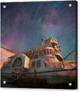 Painterly Northern Lights Acrylic Print