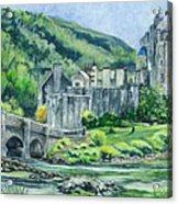 Eilean Donan Medieval Castle Scotland Acrylic Print