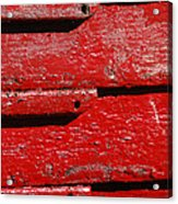 Painting It Red Acrylic Print