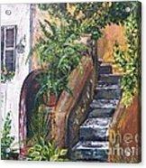 Painting    Siesta Steps Acrylic Print