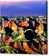 Painting The Grand Canyon National Park Acrylic Print