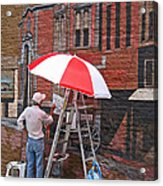 Painting The Past Acrylic Print