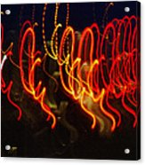 Painting With Light 3 Acrylic Print
