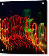 Painting With Light 5 Acrylic Print