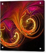 Painting With Light Acrylic Print