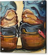 Pair Of Boots Acrylic Print