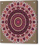 Paisley Hearts Acrylic Print