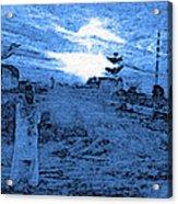 Pakistani Man At Sunset 2 Acrylic Print
