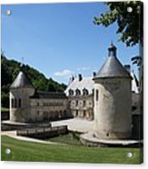 Palace Bussy - Rabutin - Burgundy Acrylic Print