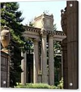 Palace Fine Arts Pillars And Urn Acrylic Print