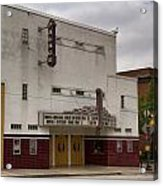 Palace Movie Theater Acrylic Print