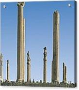 Palace Of Darius I. Apadana Or Audience Acrylic Print