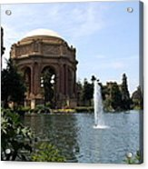 Palace Of Fine Arts And Lagoon Acrylic Print