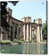 Palace Of Fine Arts Colonnades  Acrylic Print