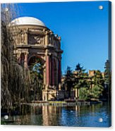 Palace Of Fine Arts In Color Acrylic Print