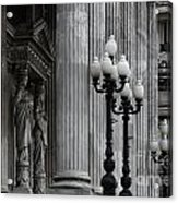 Palacio Del Congreso Argentina Acrylic Print