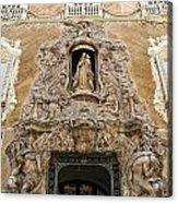 Palacio Del Marques De Dos Aguas Acrylic Print