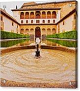 Palacios Nazaries In Granada Acrylic Print