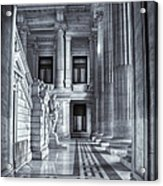 Palais De Justice Acrylic Print