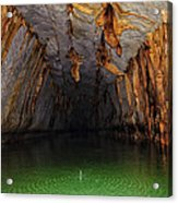 Palawan Underground River Acrylic Print