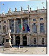 Palazzo Madama In Turin Acrylic Print