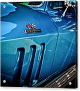 Pale Blue Rider -2 Acrylic Print