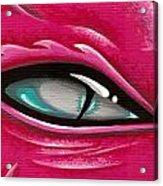 Pale Eye Of Tourmaline Acrylic Print by Elaina  Wagner