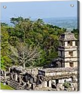 Palenque Palace Acrylic Print