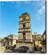 Palenque Palace Tower Acrylic Print