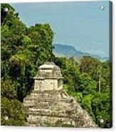 Palenque Temple Acrylic Print