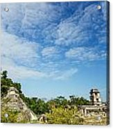 Palenque Temples Acrylic Print