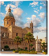 Palermo Cathedral Acrylic Print