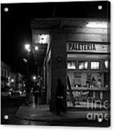 Paleteria-neveria Acrylic Print