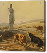 Pallas Athena And The Herdsmans Dogs Acrylic Print