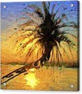 Palm Beauty Acrylic Print