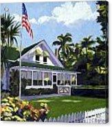 Palm Cottage Naples Florida Acrylic Print