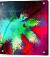 Palm Prints Acrylic Print