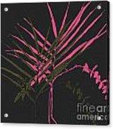 Palm Sprigs Mod Acrylic Print