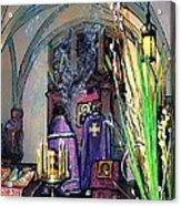 Palm Sunday Liturgy Acrylic Print by Sarah Loft