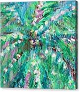 Palm Tree By Jan Marvin Acrylic Print