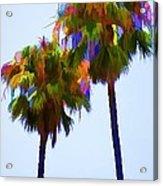 Palms 8 Acrylic Print