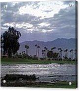Palms Springs Flood Acrylic Print