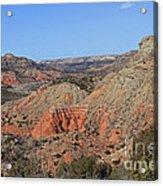 Palo Duro Canyon 021013.282 Acrylic Print